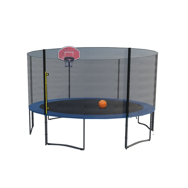 Exacme Round Trampoline with Safety Enclosure Net
