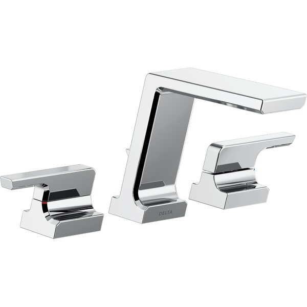 Pivotal Double Handle Deck Mounted Roman Tub Faucet Trim by Delta