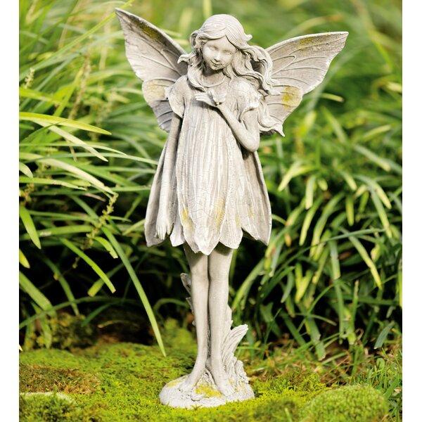 Garden Statue Fairy: Wind & Weather Fairy Garden Statue & Reviews