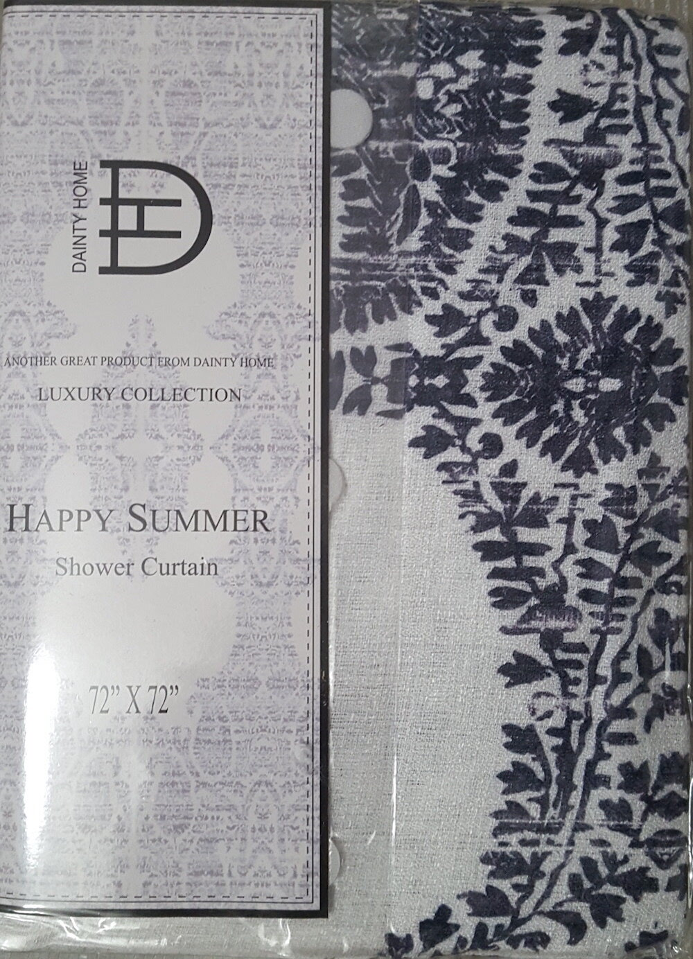 Dainty Home Happy Summer Shower Curtain Reviews