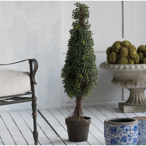 36 Faux Tree in Pot by Three Posts
