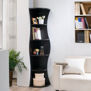 Tall Narrow Corner Bookcase | Wayfair