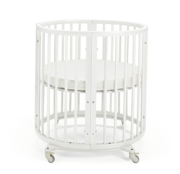 Sleepi™ 4-in-1 Convertible Mini Crib with Mattres