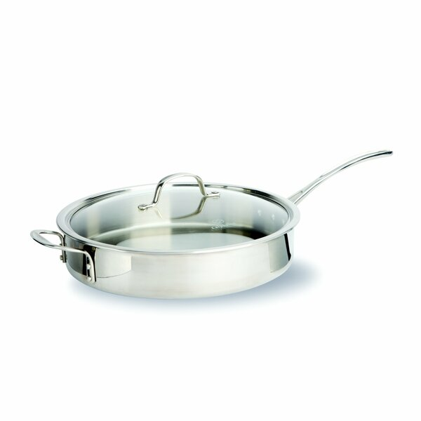 Tri Ply Stainless Steel Saute Pan By Calphalon.