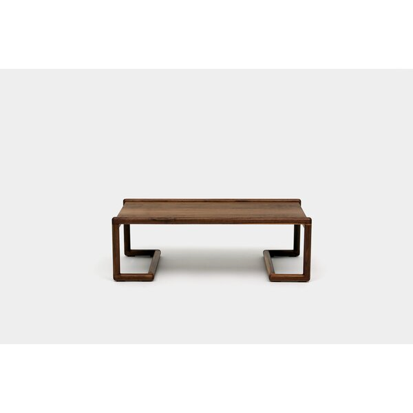 Untitled Solid Wood Sled Coffee Table By ARTLESS