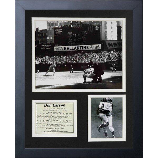 Don Larsen Framed Memorabilia by Legends Never Die