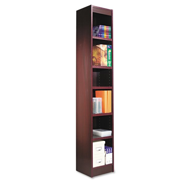 Narrow Profile Standard Bookcase by Alera®