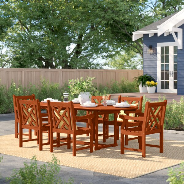 Hershman 7 Piece Dining Set by Sol 72 Outdoor
