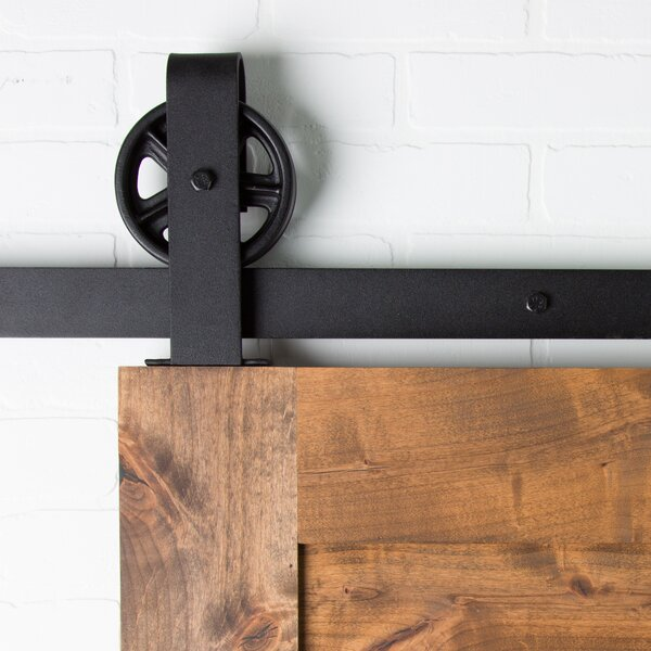 Vintage Top Mount Sliding Barn Door Hardware by Artisan Hardware