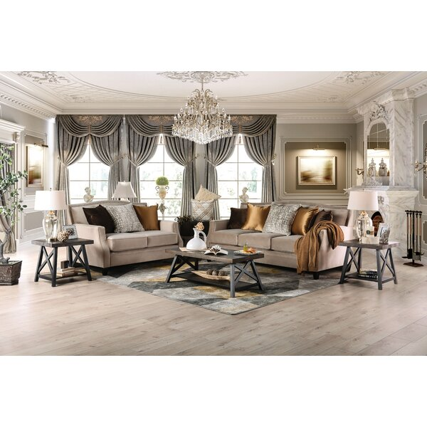 Nicki Configurable Living Room Set by Canora Grey