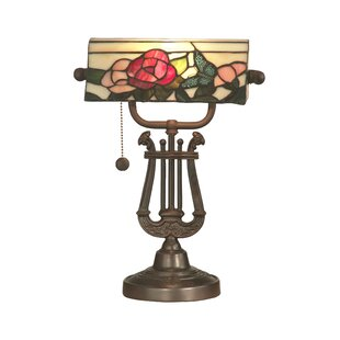 Affordable Ransom Bankers 16.25 Table Lamp By Astoria Grand