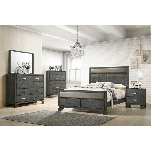 Nicholson Stardard Solid Wood 5 Piece Bedroom Set by Brayden Studio