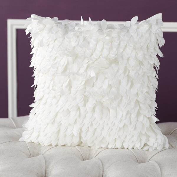 Tonnele Ruffle Throw Pillow by Willa Arlo Interiors
