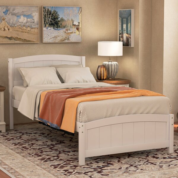 Hailee Twin Platform Bed by Rosalind Wheeler