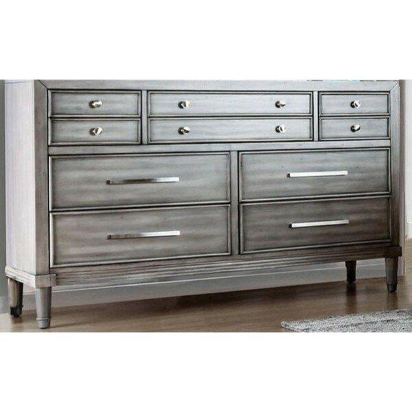 Lohan 10 Drawer Double Dresser by Rosdorf Park