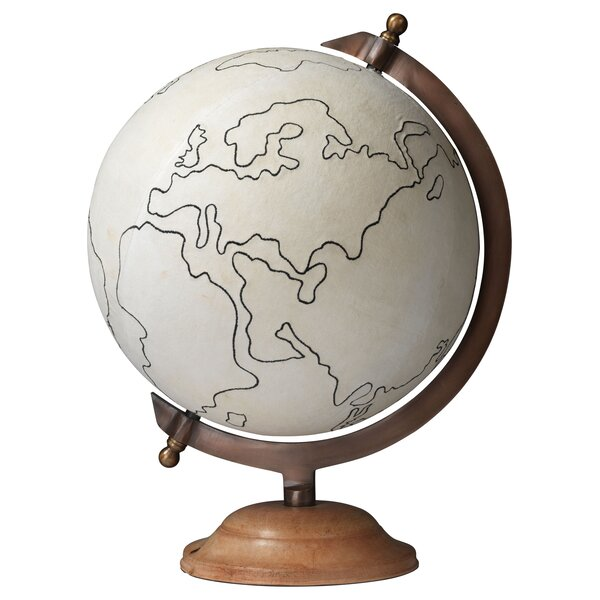 Large Canvas Globe by Bloomsbury Market