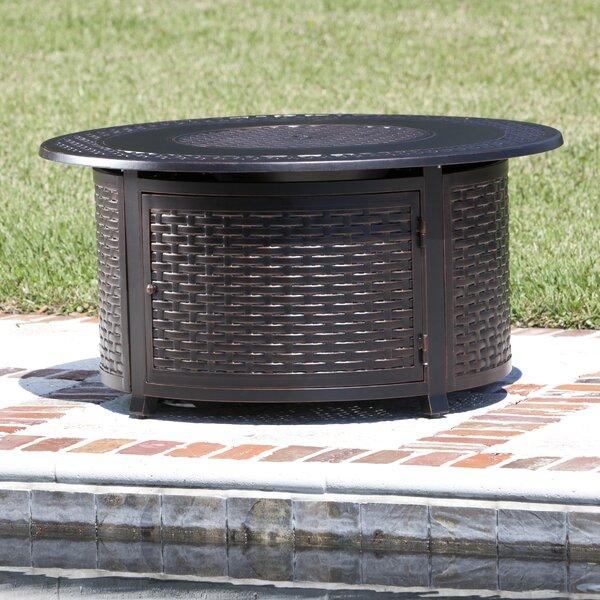 Bellante Aluminum Propane Fire Pit Table by Fire Sense