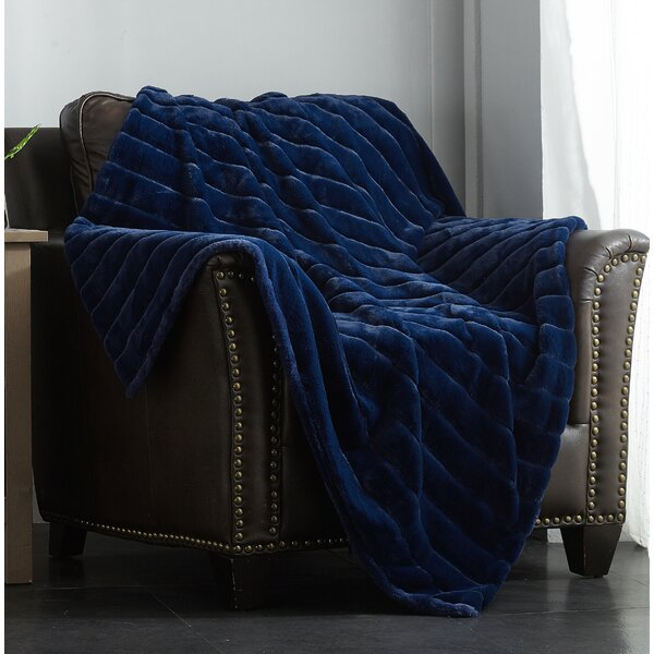 Preiss Faux Fur Blanket by Latitude Run