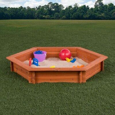 4.3' Hexagon Sandbox Creative Cedar Designs