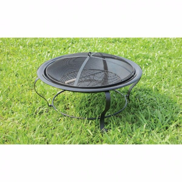 Ammon Cast Iron Fire Pit by Benzara
