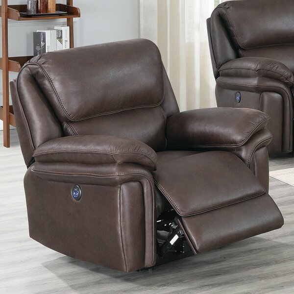 Caya Faux Leather Power Recliner W002399123