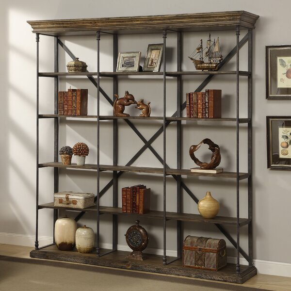 Mabie Large Etagere Bookcase by Trent Austin Desig