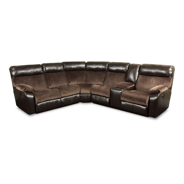 Robandy Reclining Sectional by Darby Home Co