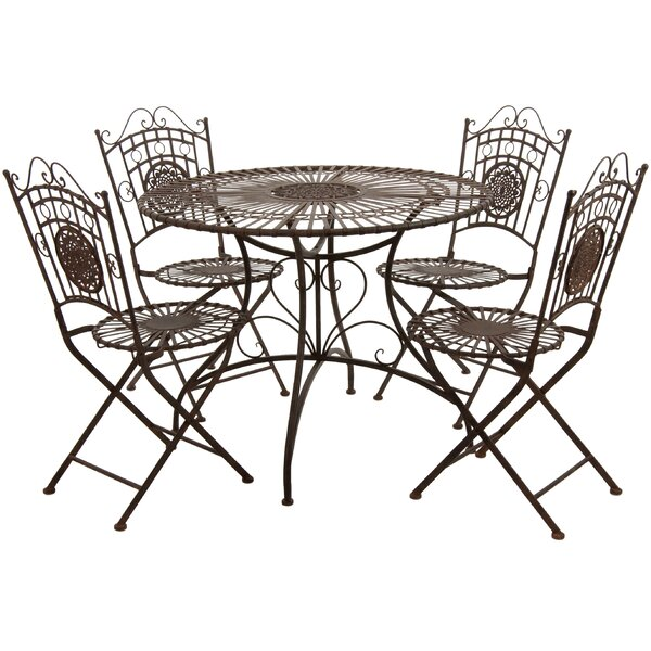 5 Piece Dining Set by Oriental Furniture