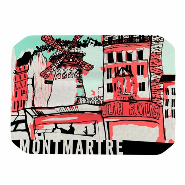 Montmartre Placemat by KESS InHouse