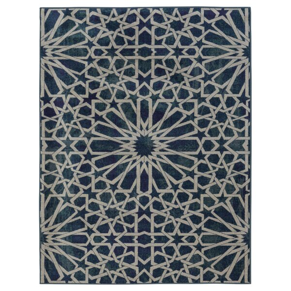Authentic Blue Area Rug by Ottomanson