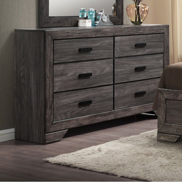 Willer 6 Drawer Double Dresser by Union Rustic