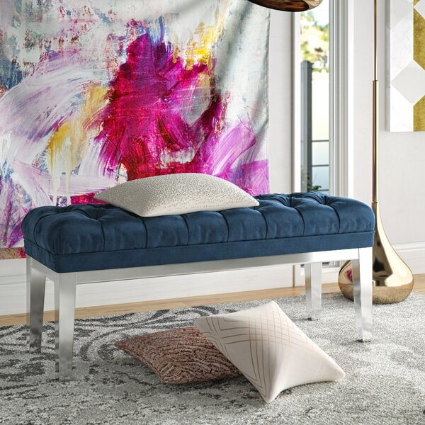 Fantina Upholstered Bench by Willa Arlo Interiors