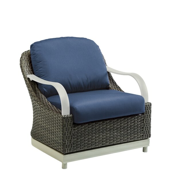 Shoreline Woven Patio Chair with Cushion by Tropitone