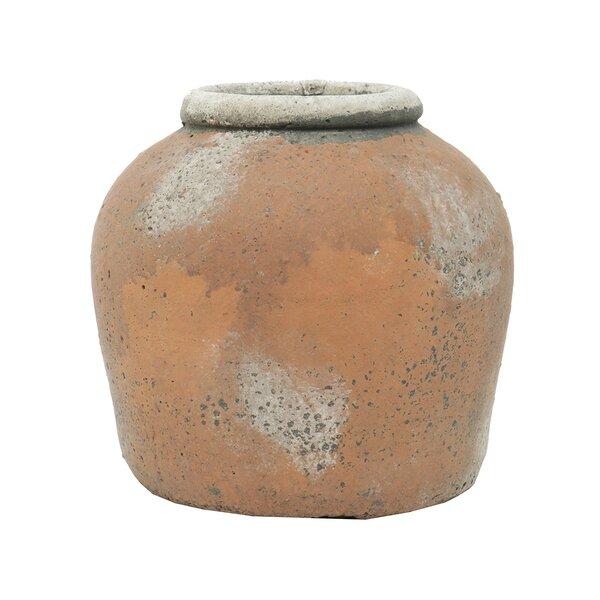 Persu Tuscan Concrete Garden Pot Planter by August Grove