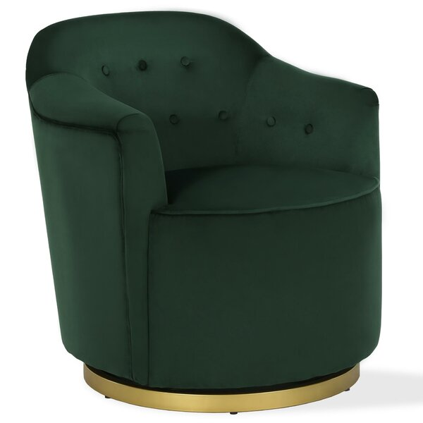 Azalea Swivel Armchair by Novogratz