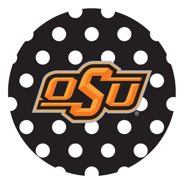 Oklahoma State University Dots Collegiate Coaster (Set of 4) by Thirstystone