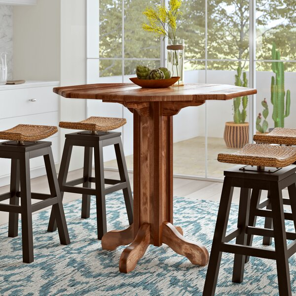 Abella Solid Wood Dining Table by Loon Peak Loon Peak