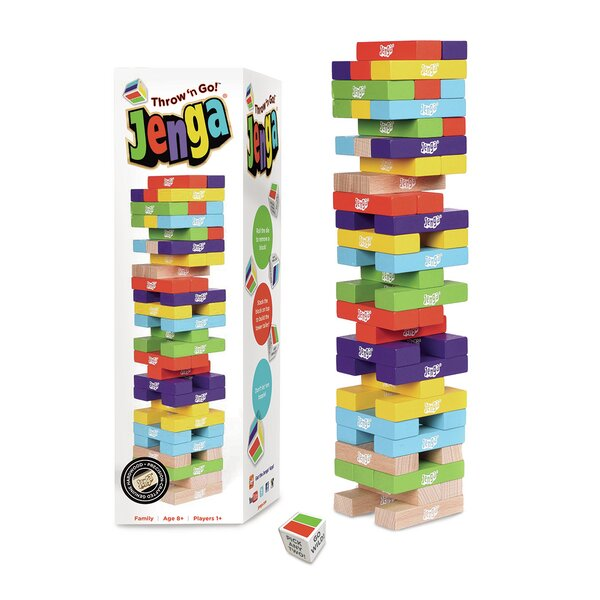 Jenga® Throw 'N Go!™ (Wayfair Exclusive) by Jenga