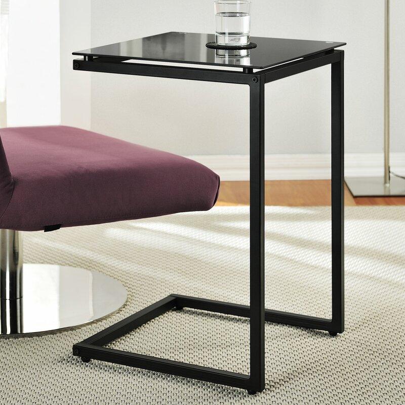 Incroyable Bonetti C Shaped End Table