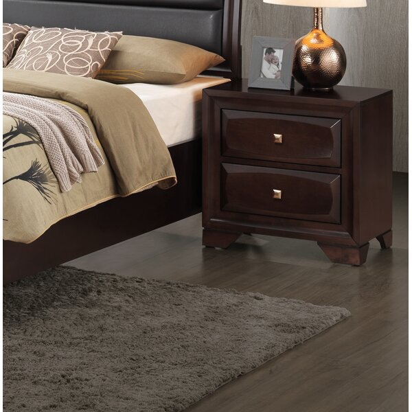 Terwilliger 2 Drawer Nightstand by Wrought Studio