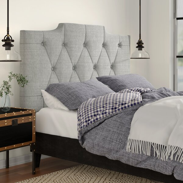 Upholstered Panel Headboard by Three Posts Three Posts