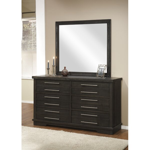 Jebediah 6 Drawer Double Dresser with Mirror by Red Barrel Studio
