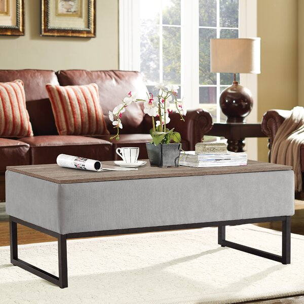 Corrado Lift Top Coffee Table by Gracie Oaks