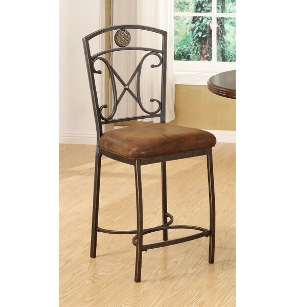 Basin Bar Stool (Set of 2) by Fleur De Lis Living