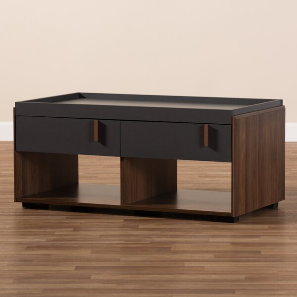 Askern Coffee Table with Tray Top and Storage by Wrought Studio Wrought Studio