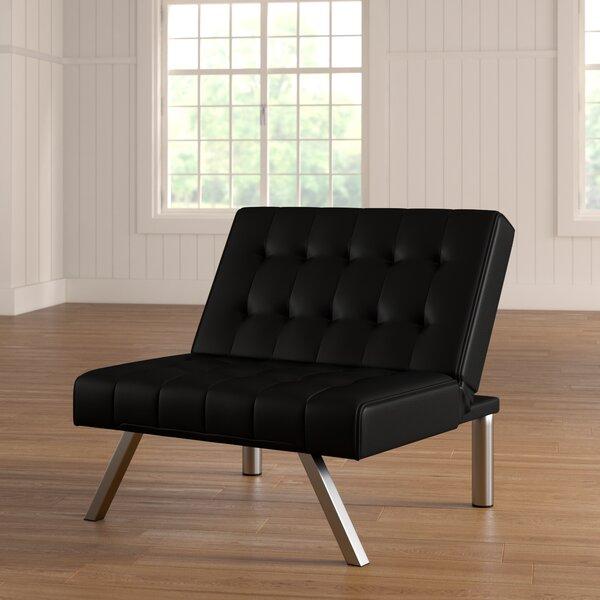 Littrell Convertible Chair by Wade Logan