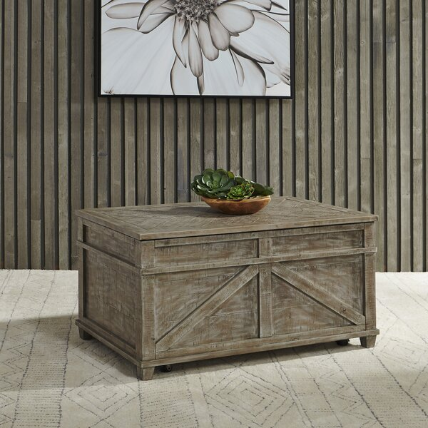 Locust Grove Coffee Table With Storage By Gracie Oaks