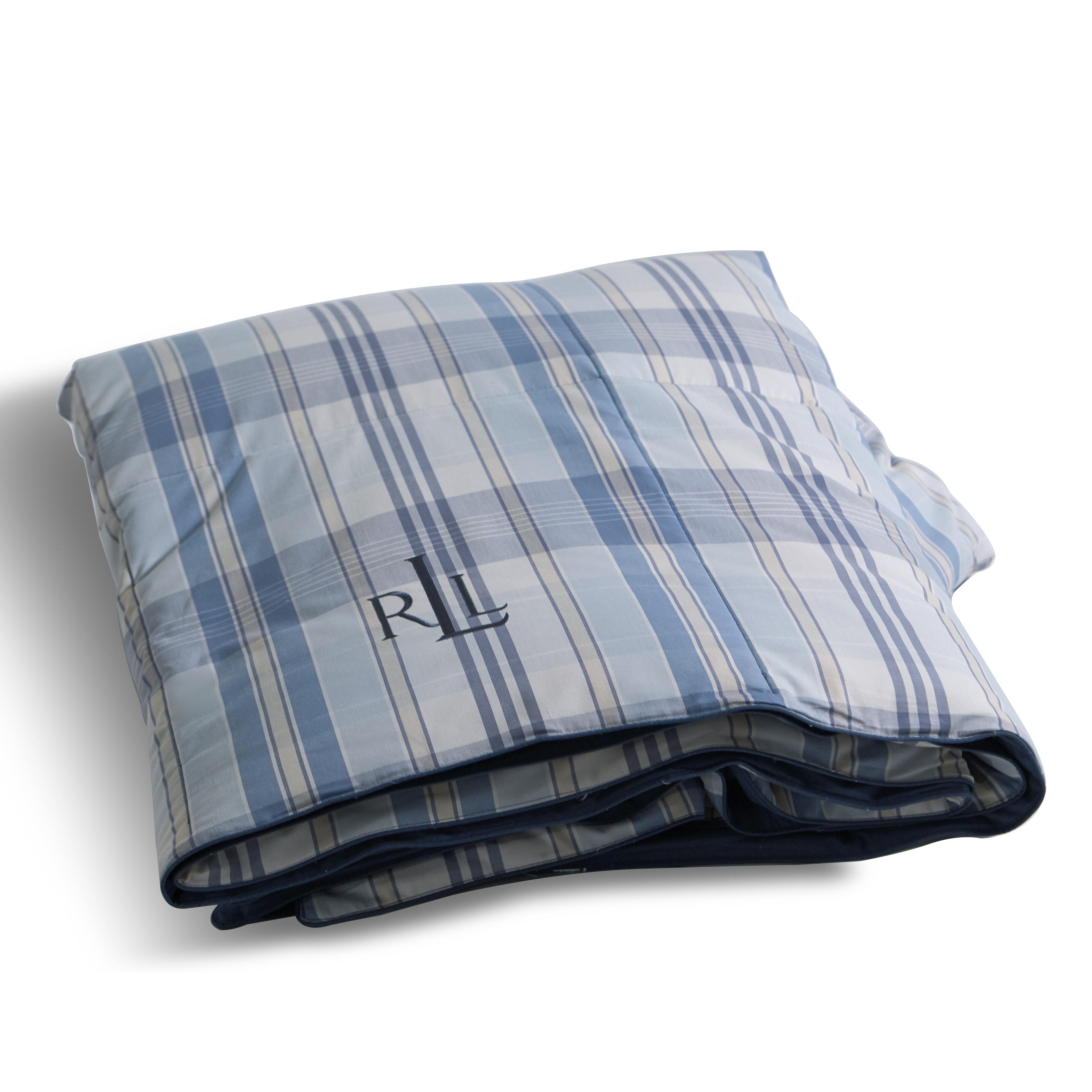 Lauren Ralph Yarn Dye Plaid Down Alternative Comforter Reviews Wayfair