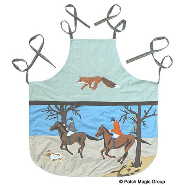 Fox Hunt Apron by Patch Magic