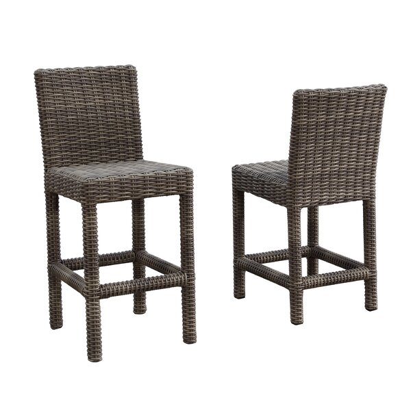 Coronado 30 Patio Bar Stool with Cushion by Sunset West